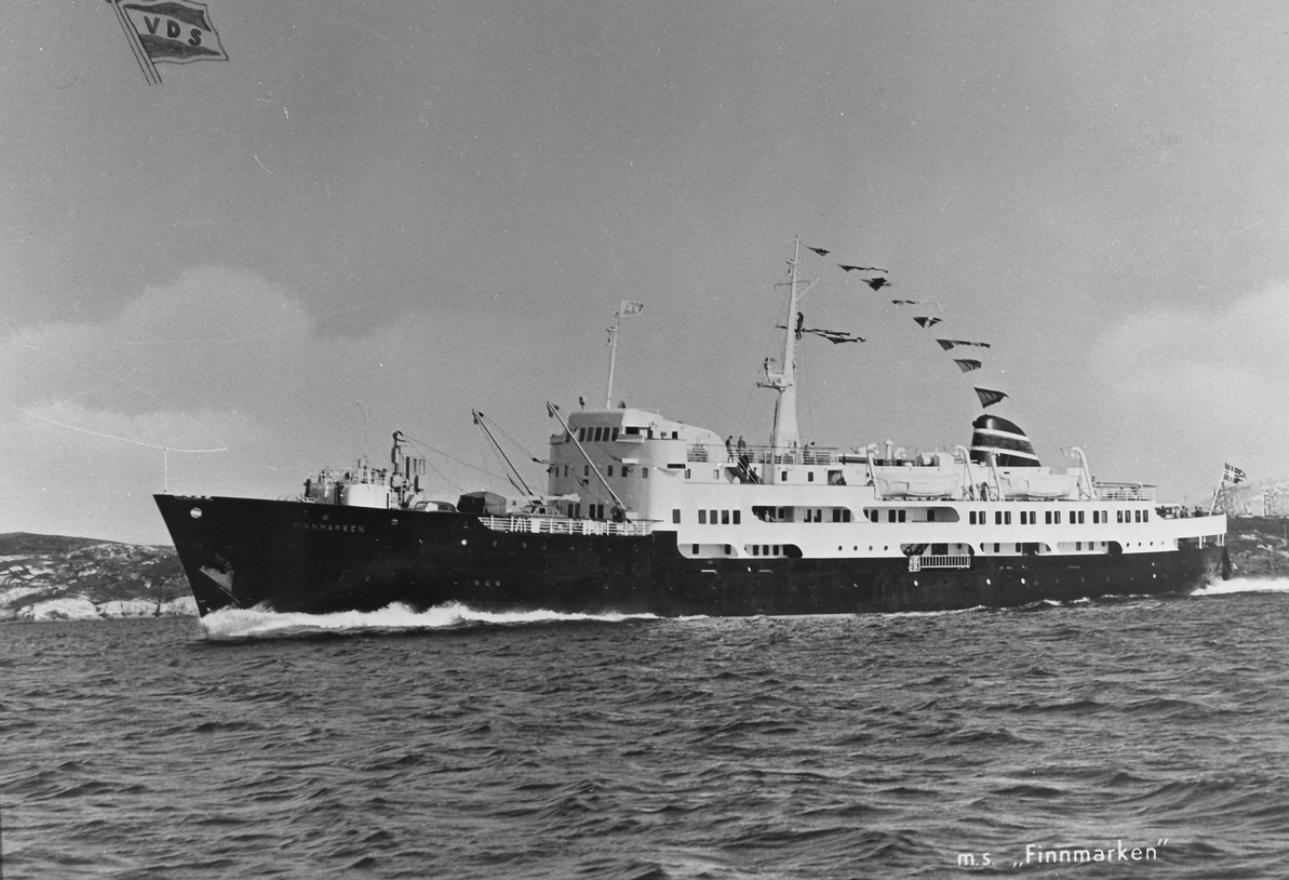 Hurtigruteskipet MS Finnmarken