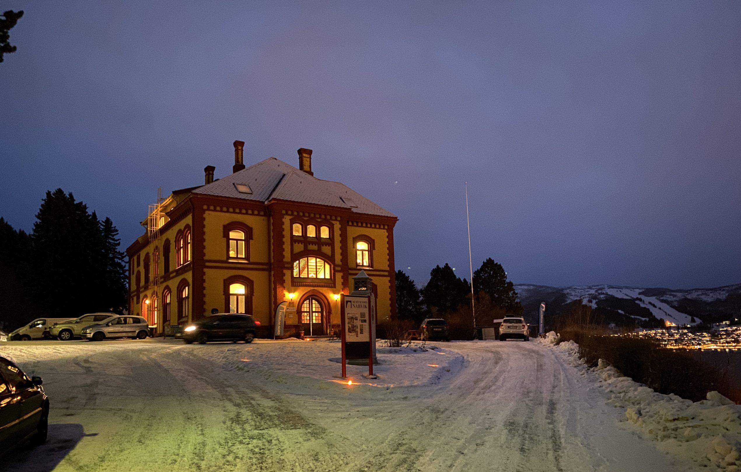 Narvik Museum winter